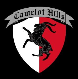 camelot hills logo black